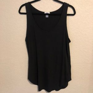 Old Navy Tops - Long black tank-top. Old Navy Tall size Large